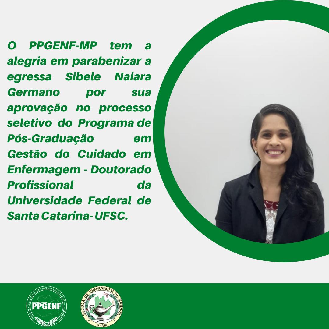Egressa do PPGENF-MP é aprovada em Doutorado na UFSC